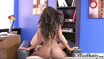 Bang On Cam In Office With Bigtits Girl (Jezabel Vessir) video-12