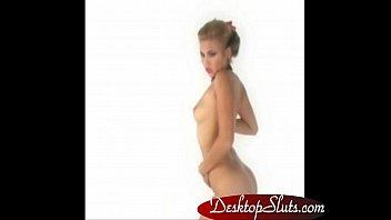 DesktopSluts.com - Virtua iStripper Desktop Stripper Hot Blond Babe