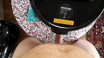 Vacuum cleaner blow job