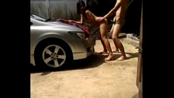 Cool outdoors porn video with an Asian babe
