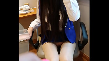 Academic goddess Ujin super clear private shoot, job hunting is unspoken rules, remote control jumps to masturbation, sexy stockings uniform temptation 25 min