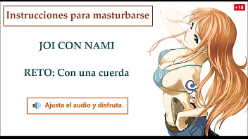 Zoro tashigi hentai Joi español hentai, nami one piece, instrucciones para masturbarse.