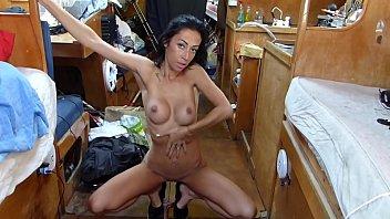 BoatBabesXXX - Kims Strippetease Sex Show
