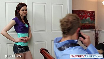 Sexy brunette Jenna J Ross fucking 8 min