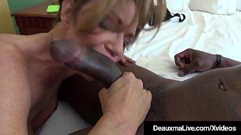 Busty Cougar Deauxma Bangs A Big Black Cock thumbnail