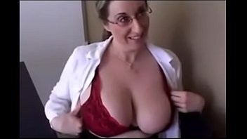 Busty secretary lifted up and fucked Fucking with a busty secretary milf