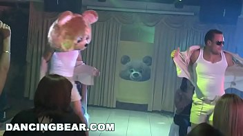 DANCING BEAR - Things Get Wild And Crazy At This Birthday Party 3分钟