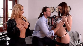 Big Titty Euro Girls In Hot Hardcore Action!
