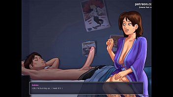 Wild sex with stepmom at night in bed l My sexiest gameplay moments l Summertime Saga[v0.18] l Part #11 thumbnail