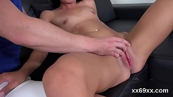 Lover assists with hymen checkup and riding of virgin chick
