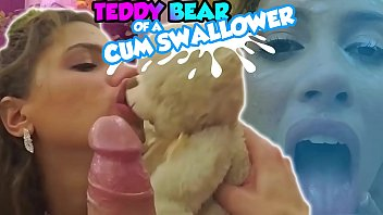 Trailer#3 Teen received Huge Cum Load on her Face while Holding her TeddyBear