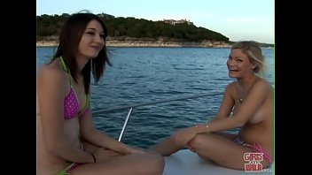 Bikini girl gone wild Girls gone wild - a couple of young teen lesbians having fun on a boat