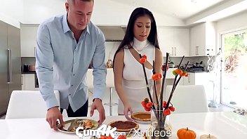 CUM4K Big Tit Asian Jade Kush Filled With Heavy Cum