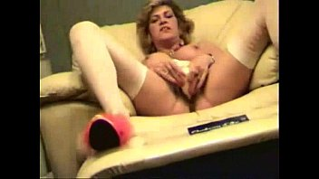 Milf self video - My horny mom self taped masturbating. stolen video