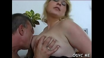 This old guy knows how to tempt a much younger slut