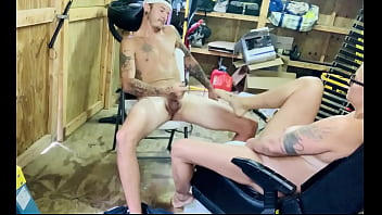 Caught having Sex in the Neighbors Shed