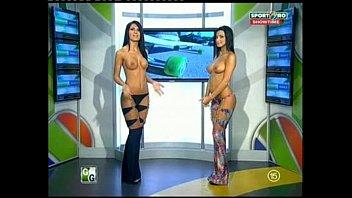 Goluri si Goale ep 12 Miki si Roxana (Romania naked news)