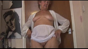 free russian home porn Blonde Granny in stockings posing and teasing