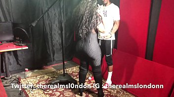 ms London gets fucked in the studio