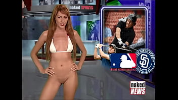 Naked News Compilation - Rachel Simmons takes her clothes off 2/3