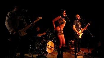 Croatian singer sex tape Rock singer takes off her clothes in concert