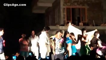 Public desi Telugu natukatti featuring local randis nude on stage preview image