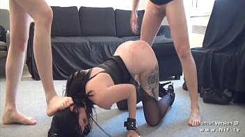 Gothic french slut screwed like a dog ass plugged and facialized in 3way pornhub video