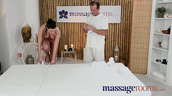 Massage Rooms 18 year old beauty gets a squelching pussy before epic fuck thumbnail