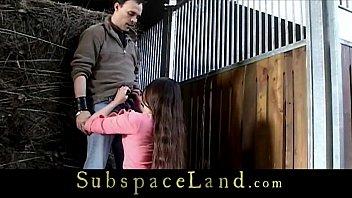Sweet damsels imprisoned in a stable for kinky fantasy 6 min