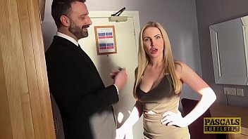 Blonde milf getting fucked hard Georgie lyall takes it hard from behind by pascal white