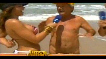 Nude Beach Fern Woman HD