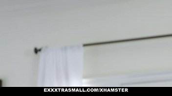 ExxxtraSmall - Horny Little Teen Ellie Eilish Plays With Big Dad Dick