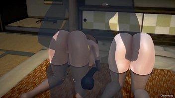 3D hentai pregnant woman orgasm 11 min