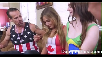 Daughters Lose Bet and Fuck Dads  |DaughterLust.com