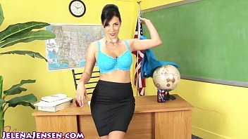 Sexy teacher student video Sexy professor jelena jensen teaches a lesson