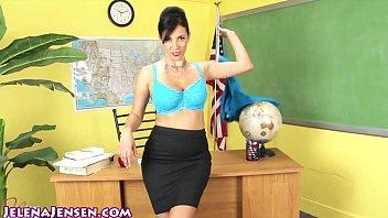 Sexy Professor Jelena Jensen Teaches a Lesson!