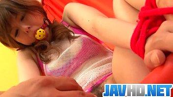 Miku AIri amazes in pure Asian bondage porn show thumbnail