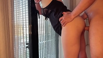 Standing anal for Russian milf in prison