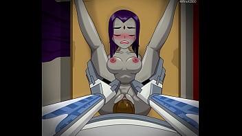 Hentai Raven Get Fuck by Cyborg Teen Titan 31 sec