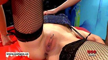 Susana Viktoria and Luisa three gorgeous brunette bukkake lovers 12 min