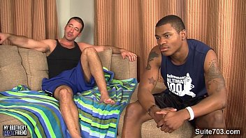 Dominican gay - Black gay fucking a white hunk