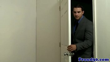 Clip - Mature Gay Stud Visits Partners Office, Porn - HD Video 6分钟