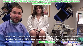 $CLOV Glove In As Doctor Tampa While Experimenting On Human Guinea Pigs Like Sophia Valentina @CaptiveClinic.com