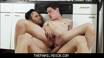 Skinny Young Twink Step Son Edward Terrant Fucked By Step Dad In Family Kitchen