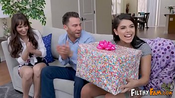 Daughter Fucks Her Prankster Step-Parents On Her Birthday