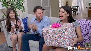 Daughter Fucks Her Prankster Step-Parents On Her Birthday thumbnail