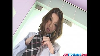 Horny and kinky babe Nao Kojima dildo humping
