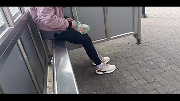 The father follows his daughter and films her to the bus station. When she gets home, she forces her to fuck with him.