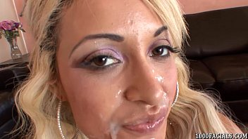 Porn Superstar London Giana Takes A Facial Cumshot
