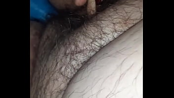 Ugly fat bitch rubbing pussy again for you